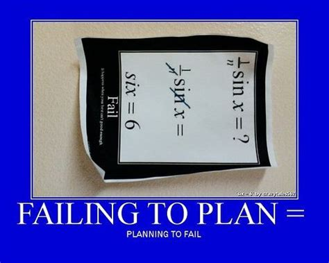 Are You Planning To Fail In Your Job Search