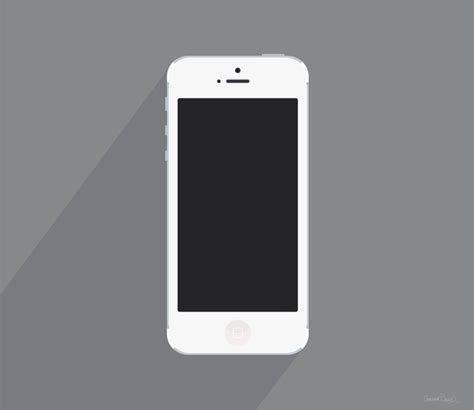 iphone 5 white white iphone 5 by barrettward a fairly accurate white