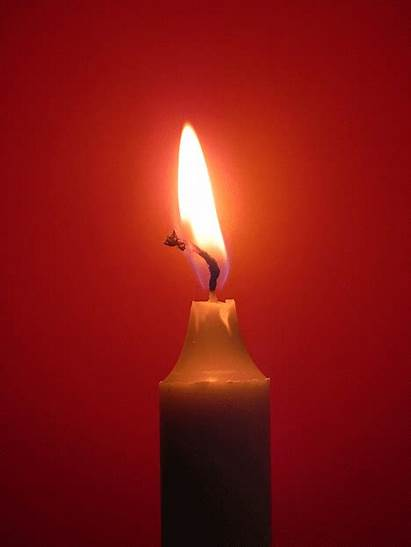 Chemical Physical Changes Matter Candle Animated Burning