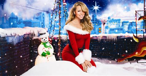 Mariah Carey Bringing All I Want For Christmas Is You