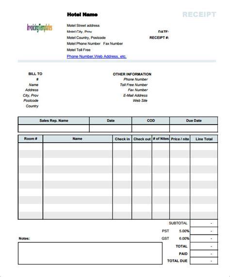 invoice template  mac programs