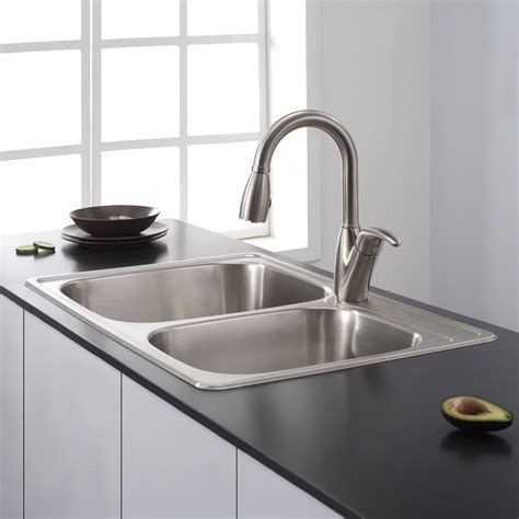 kitchen sink faucets at lowes decor contemporary sinks at lowes for fascinating kitchen 8486