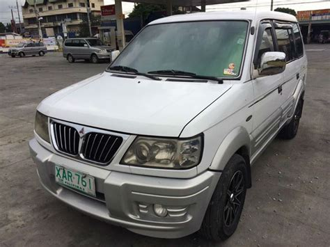 mitsubishi adventure used 2002 mitsubishi adventure super sport white for sale