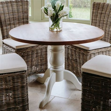 3 foot round table hardwick 3ft 6 quot round rustic dining table from curiosity