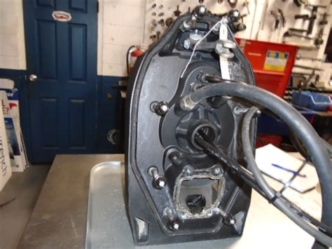 volvo penta xdp reconditioned transom assembly