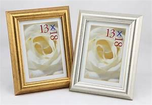 Bilderrahmen 13x18 Silber : mucha klassischer bilderrahmen in gold silber 10x15 13x18 20x30 foto rahmen idealfoto ~ Frokenaadalensverden.com Haus und Dekorationen