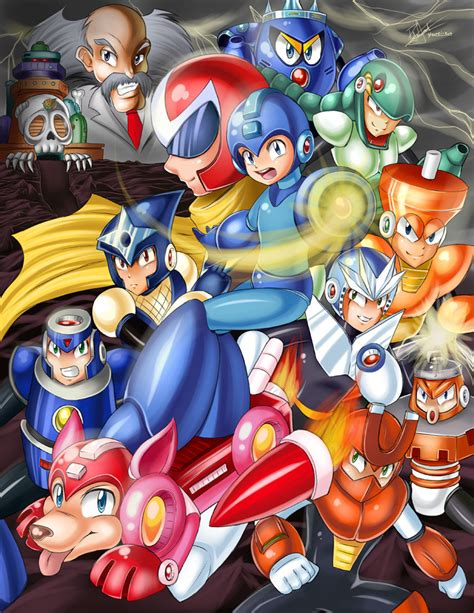 Mega Man 3 By Yuureikun On Deviantart