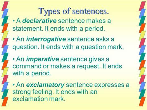 homework help what is command sentense