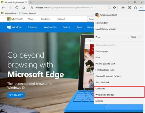 what s new with microsoft edge for windows 10 anniversary