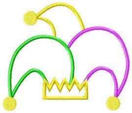 Mardi Gras Jester Hat Clip Art