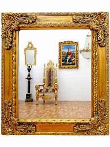 Miroir Baroque Doré : miroir baroque dor 82x72 cm ~ Teatrodelosmanantiales.com Idées de Décoration