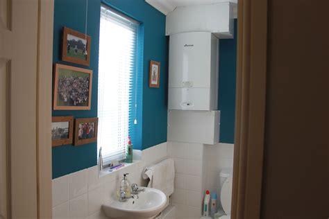 loo painted dulux teal tension girls bathroom