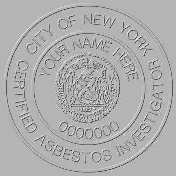 asbestos inspections   york city     acp