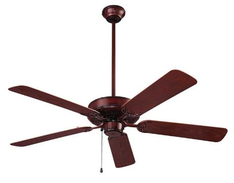 dual blade ceiling fans home buy nutone model cfo52wb outdoor ceiling fan weathered