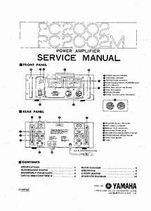 Yamaha Pc2002 2002m Sm Service Manual Download  Schematics  Eeprom  Repair Info For Electronics