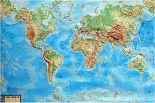 World Flat Earth Map