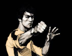 Bruce Lee On Windy Days