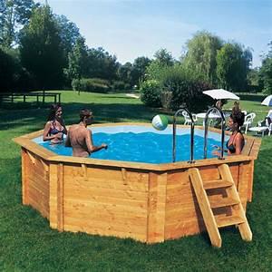 piscine hors sol bois promo am nagement piscine hors sol With piscine en bois semi enterree pas cher 9 les points forts dune piscine hors sol en bois
