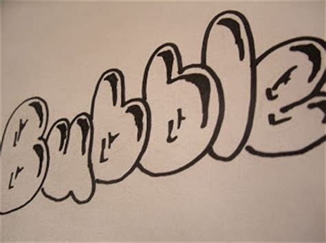 graffiti walls graffiti letters buble arts buble alphabet