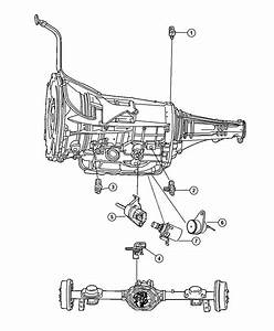 Dodge Ram 1500 Sensor  Trans Pressure Transducer  Drivetrain  Dgv