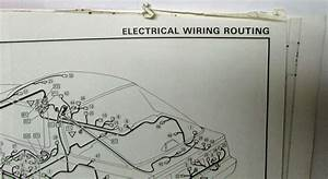 1987 Toyota Supra Electrical Wiring Diagram Manual Us  U0026 Canada