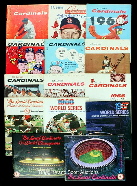 large   st louis cardinals yearbook world