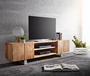 Möbel 4 Living Minden : lowboard live edge 200 cm akazie natur 4 t ren 2 f cher m bel tische fernsehtische ~ Bigdaddyawards.com Haus und Dekorationen