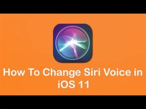 how to change voicemail message on iphone how to change siri voice in ios 11 iphone