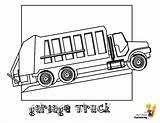 Coloring Garbage Truck Construction Colouring Trucks Vehicles Yescoloring Grimy sketch template