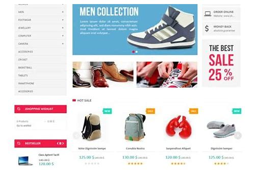joomla ecommerce templates baixar gratis