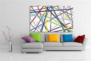 Tableau Salon Design : tableau abstrait vente de tableaux abstraits pop art ~ Teatrodelosmanantiales.com Idées de Décoration