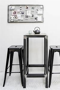 Table Haute Industrielle : table haute industrielle mange debout winnipeg en acier ~ Melissatoandfro.com Idées de Décoration
