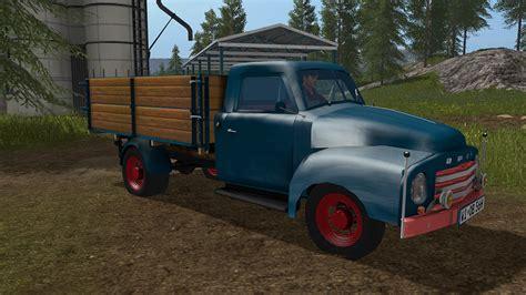 Opel Truck by Opel Blitz Flatbed 1956 Truck Farming Simulator 17