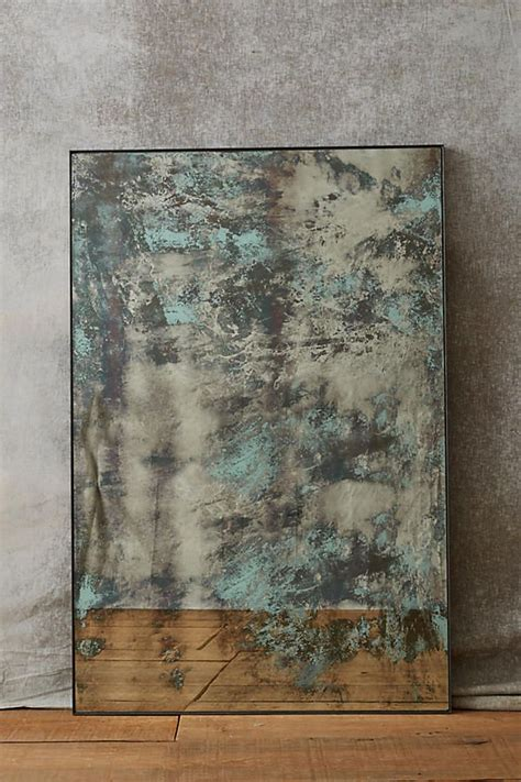 25 best ideas about distressed mirror on