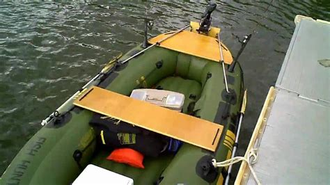 Inflatable Boat Fish Hunter by Sevylor Fish Hunter 360 Customized Boating Pinterest