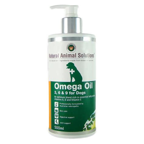 omega    oil  dogs ml animal natural care