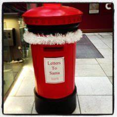 post box large royal mail pillar box santa xmas With santa letter box