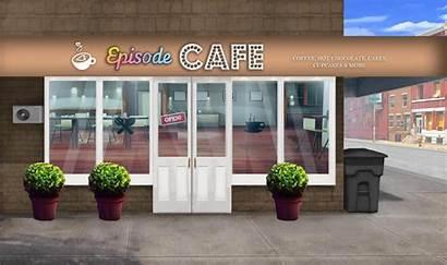 Episode Backgrounds Interactive Gacha Cafe Anime Background