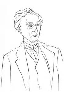 bertrand russell coloring page  printable coloring pages
