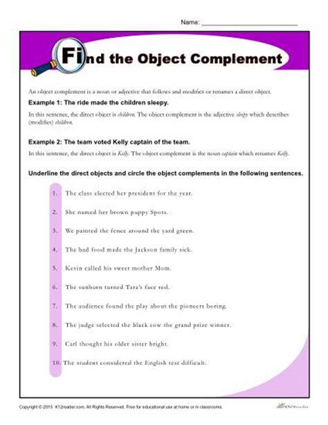 Identifying Verbs Worksheet Worksheets Subject Complement Worksheet Justptctrusted Worksheets And Printables