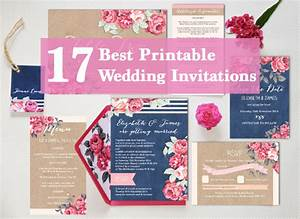 17 of the best printable wedding invitations ever for Diy wedding invitations vs professional