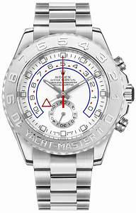 timer 75 minutes 116689 rolex yacht master ii oyster perpetual mens 18k