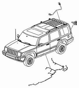 2009 Jeep Commander Wiring  Fuel Module    21 1 Gallon Fuel Tank  Fuel Tank Skid Plate