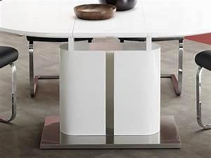 Esstisch Oval Weiß Ausziehbar : esstisch oval ausziehbar weiss m bel design idee f r sie ~ Whattoseeinmadrid.com Haus und Dekorationen