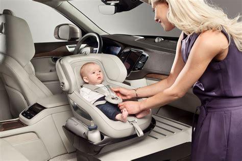 babystoel test volvo toont excellence child seat concept autonieuws