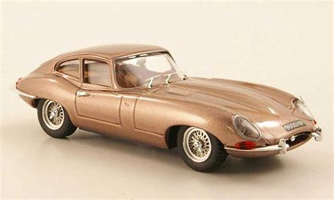 Jaguar Type E 1961 Coupe Kupfer Genf Best Diecast Model