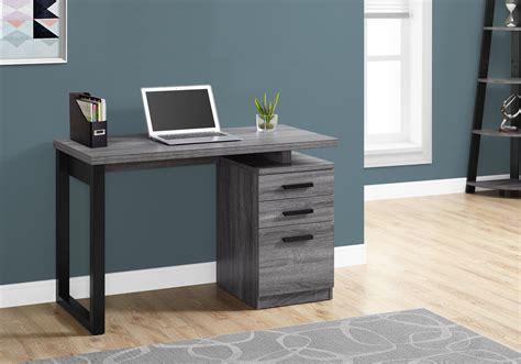 bureau d orientation bureau 48 l gris noir orientation gauche ou droite