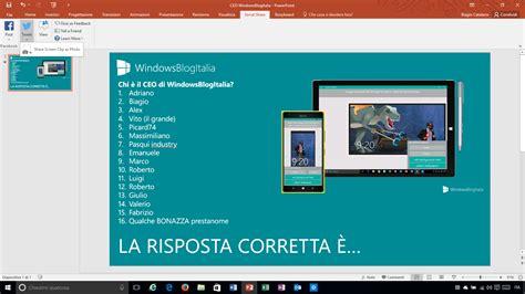 si鑒e social microsoft come condividere una presentazione powerpoint