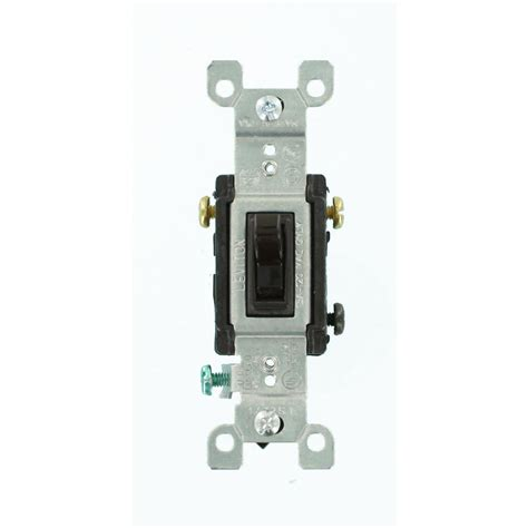 leviton 15 3 way toggle switch brown r59 01453 002 the home depot