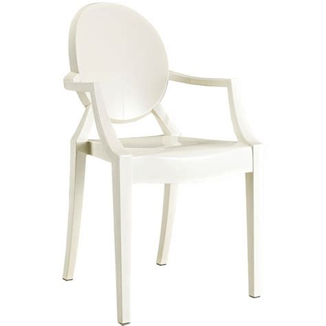 starck ghost chair clear side arm chair modern in designs